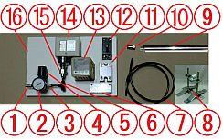 열풍 히터 라보 키트 200v-3kw-29PH 외부 공기 공급 사양