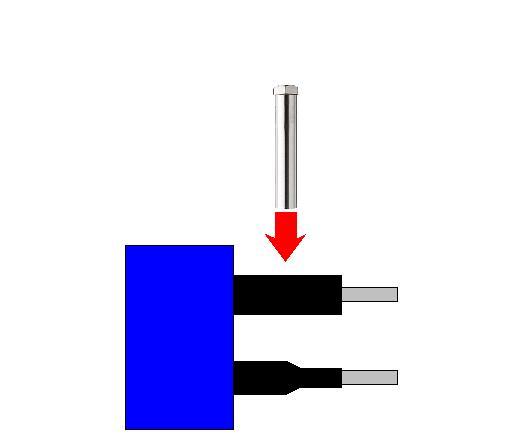 제 5 호 열수축 튜브의 가열  열풍 히터 의한
