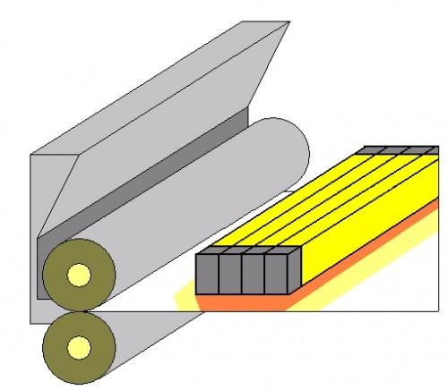할로겐 라인 히터 의한 제 27 호 섬유 (원단)의 방축 수지의 건조