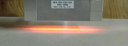 가열 길이가 250mm 이하에서는 HLH-30 시리즈를 선택합니다.