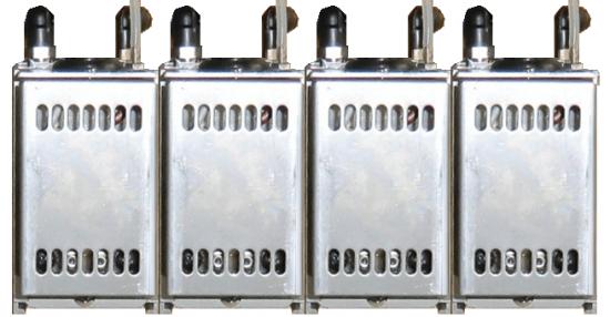 가열 폭이 60mm 이상 가열 길이도 300mm를 초과하는 경우에는 HLH-60W를 조합하여 사용합니다.
