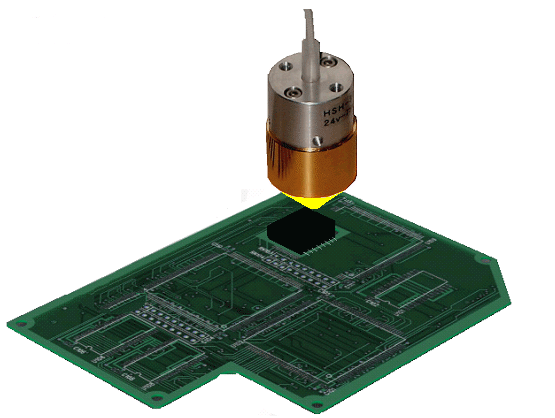 no1 soldering of printed circuit boards best applications halogenno 1 soldering of printed circuit boardssoldering of printed circuit boards by the halogen point heater
