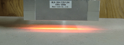For heating length less than250 mm, please select HLH - 30 series.