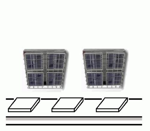 적외선 패널 히터 의한 제 11 호 유리 소둔 니트