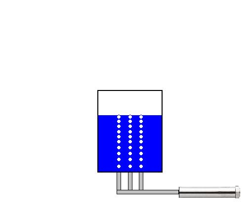 Heat sterilization of liquid by aeration by the Air Blow Heater