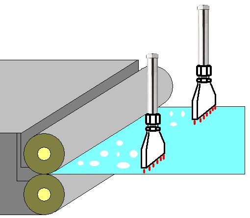 表面處理鋼板的除去水分乾燥