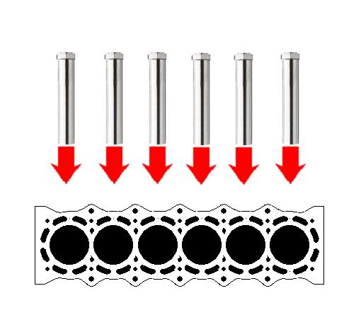 發動機缸體的排水乾燥