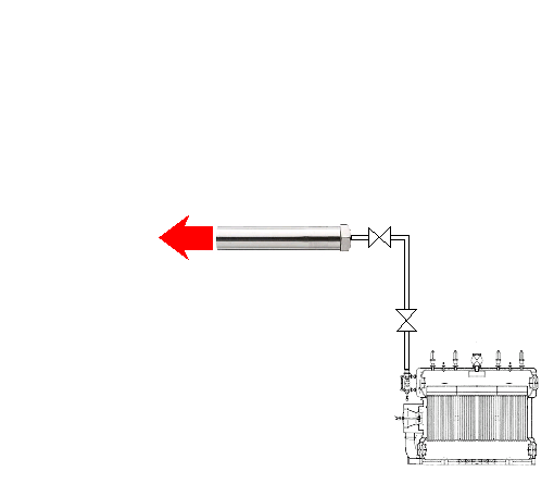 過熱水蒸氣的製造