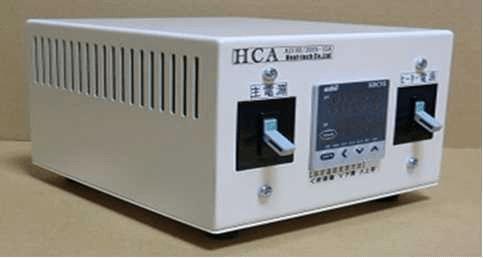 熱風加熱器温度控制