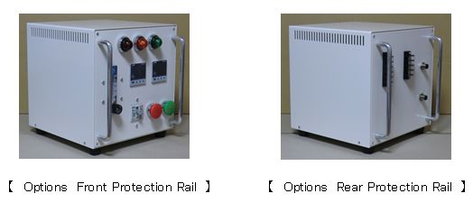 【 Options Front Protection Rail 】【 Options Rear Protection Rail 】