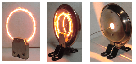 Instantaneous Heating Halogen Ring Heater HRH series