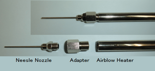Needle Nozzle for Air Blow Heater