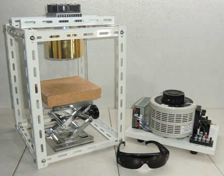 鹵素燈點型加熱器 實驗室配套元件 HPH-120A/f45-1000w +HCVD