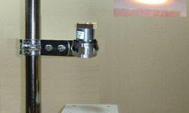 Halogen Point Heater Laboratory-kit HPH-35A/f15-110w+HCV