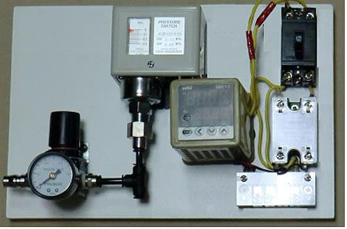 Air-pressure confirmation sensor