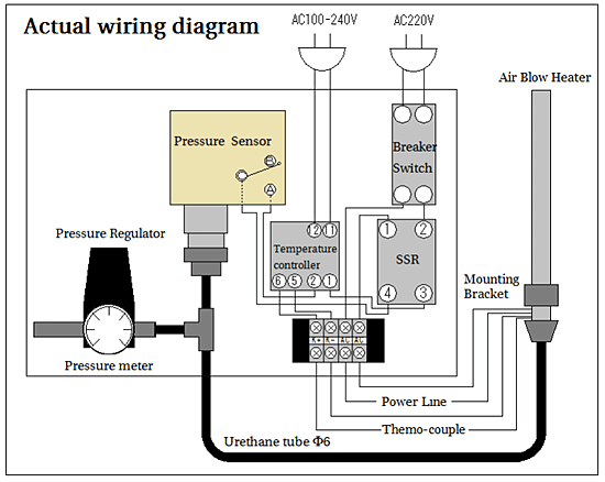 Air-pressure confirmation sensor