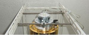 立方體試驗台用加熱器安装夾具