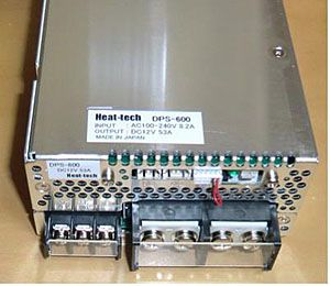 DC power supply for Halogen Point Heater DPS series