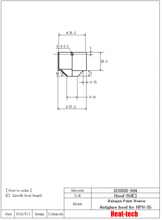 9.Outline drawing of HPH-35