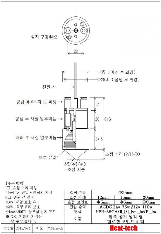 9.HPH-35의 외형도