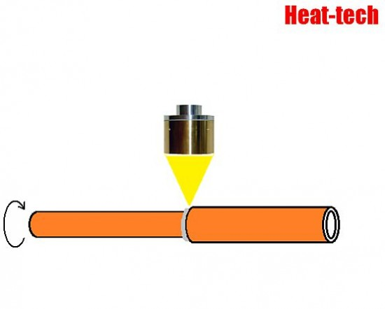 No.16 Brazing of fuel cell vehicles pipe by the Halogen Point Heater