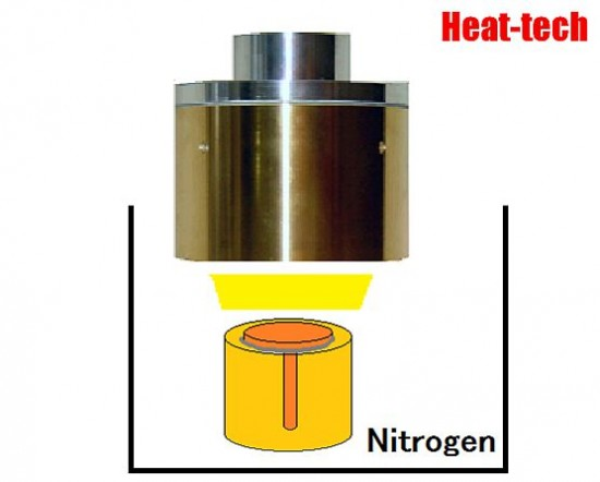 No.17 Brazing of Mini Valve by the Halogen Point Heater