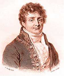 Jean Baptiste Joseph Fourier, Baron de、 (21 March 1768 – 16 May 1830) French mathematician and physicist