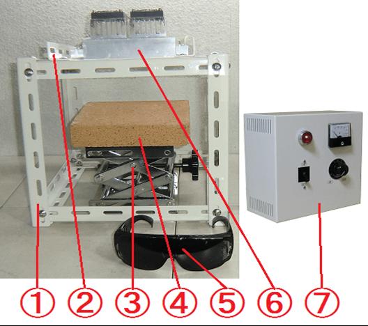 鹵素燈線型加熱器 實驗室配套元件 HLH-35A-1000w +HCVD