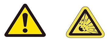 이 위험을 회피하기 위해서는 파열되어도 화재나 등에 위험이 없도록 설계된기구에서,  조건에서 사용하십시오. 또한 전원 라인에는 적절한 속단 FUSE를 삽입하십시오.