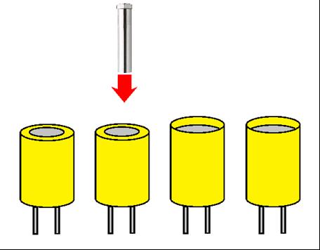 電容器的熱收縮
