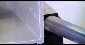 Deburring of ABS resin