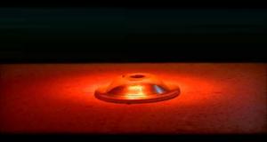 Heating of the metal cap