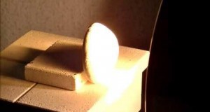 Heating, melting and vitrification of rocks series 4 - Turbidite