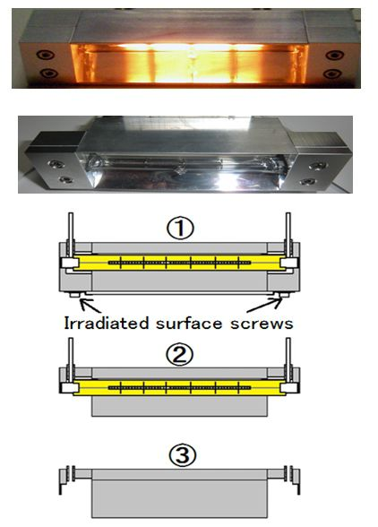 HLH-30A/30W/35A/35W - Lamp life of the Halogen Line Heater