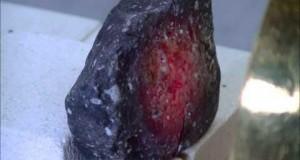 Heating, melting and vitrification of rocks series 7 - Basalt