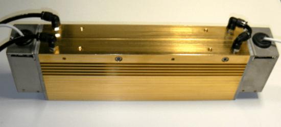 水冷式集光型線加熱器HLH-55W / 5kw絕緣耐火磚的加熱實驗