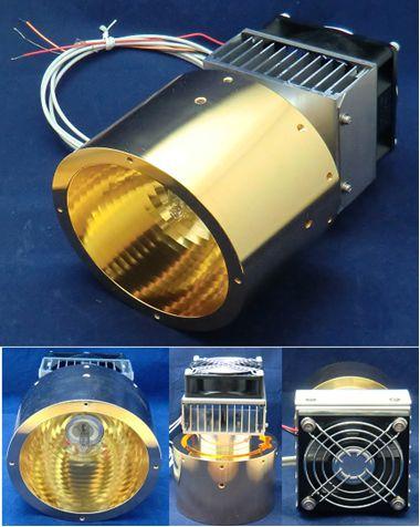 空冷式鹵素燈點型加熱器 HPH-1200A