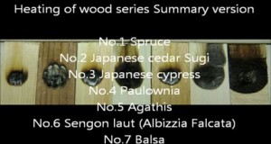 Heating of wood series 8 Summary version - Best Applications the Halogen Point Heater
