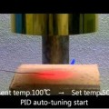 Examples of Auto-tuning of The Halogen Point Heater by the HPH-120 - Best Applications the Halogen Point Heater