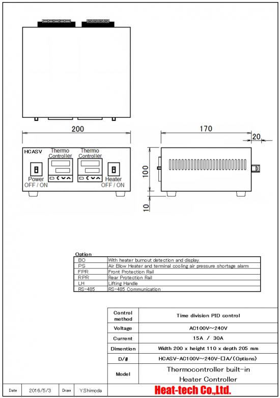 Supervisor-function built-in HCASV
