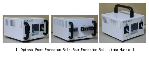Options Front Protection Rail ・ Rear Protection Rail ・ Lifting Handle
