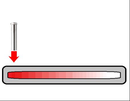 제 100 호 히트 파이프의 차온 검사