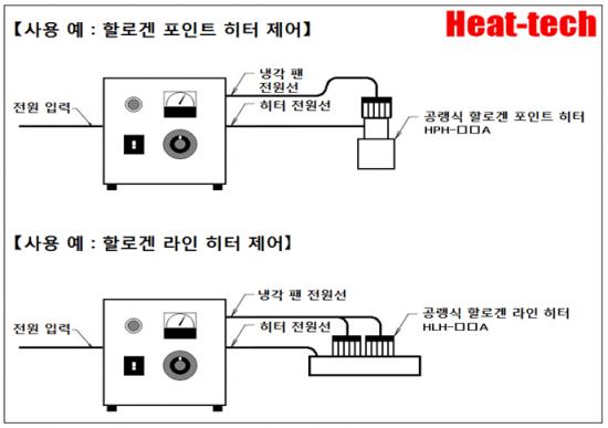 냉각 용 DC 전원 탑재형 HCVD