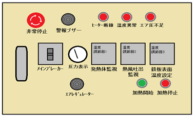Custom heater controller