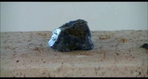 Heating, melting and vitrification of rocks series 17 - Sodalite