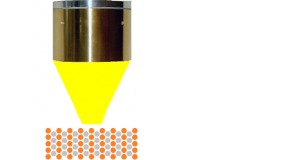 Synthesis of fine metal powder bonding material