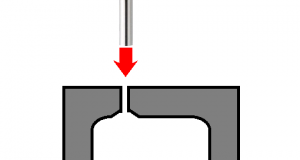 Molding of a polyethylene container