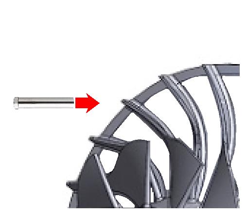 No.104 Examination of a engine turbine