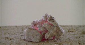 Heating, melting and vitrification of rocks series 19 - Lithia mica(Lepidolite)