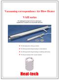 Vacuuming correspondence Air Blow Heater VAH English